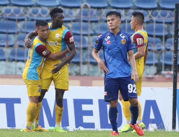 Chiến thắng đẹp, thuyết phục của Quảng Nam trên sân Tam Kỳ - Ảnh 1.