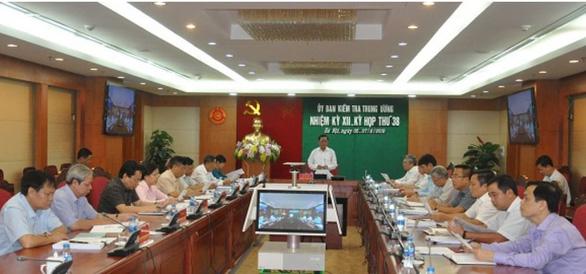 Ban thường vụ Tỉnh ủy Khánh Hòa vi phạm đến mức phải kỷ luật - Ảnh 1.