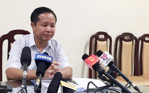 Bị xem xét kỷ luật, giám đốc Sở GD-ĐT Hòa Bình xin nghỉ chữa bệnh dài hạn - Ảnh 1.