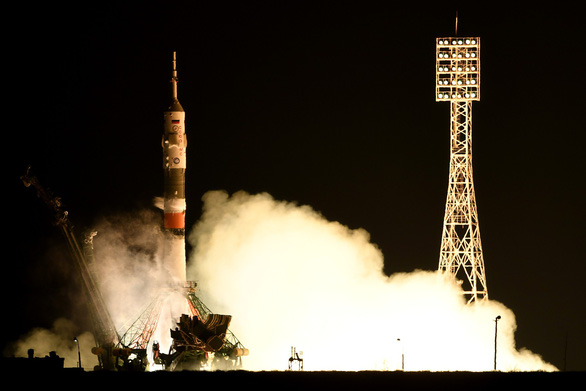 Tàu vũ trụ không người lái chở robot hình người của Nga đáp thất bại - Ảnh 1.