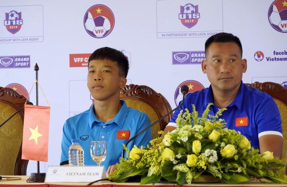 U15 Việt Nam có lối đá tập trung, rất hay - Ảnh 2.