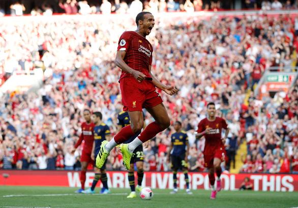 Salah tỏa sáng, Liverpool đè bẹp Arsenal tại Anfield - Ảnh 1.