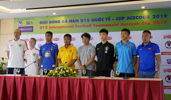 U15 Việt Nam có lối đá tập trung, rất hay - Ảnh 1.