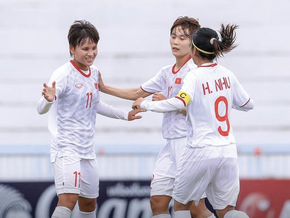 Việt Nam vào chung kết Giải bóng đá nữ Đông Nam Á 2019 - Ảnh 1.