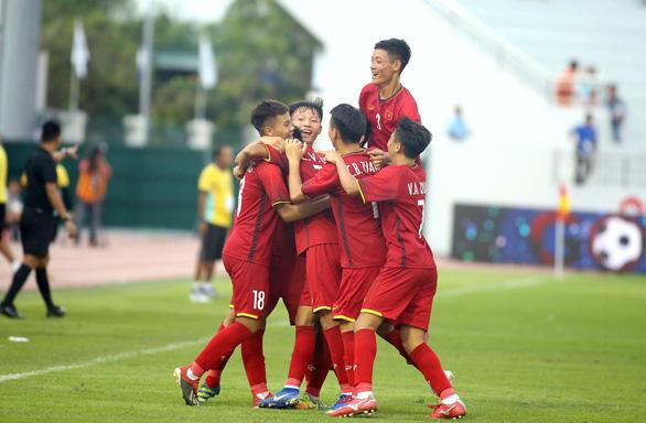 Việt Nam gây bất ngờ hạ Nga 2-0 ở Giải U15 quốc tế 2019 - Ảnh 1.