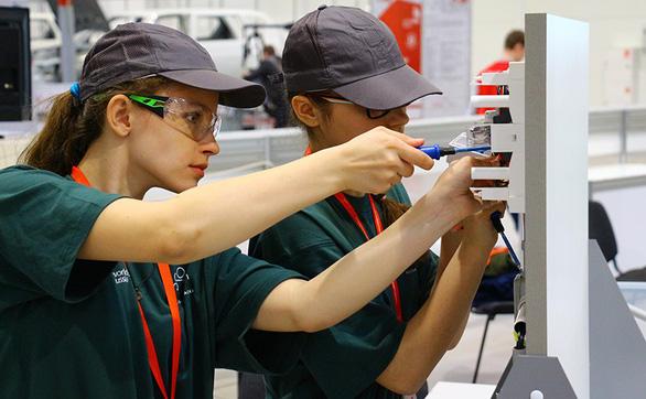 Kỳ thi tay nghề thế giới 2019: Sức hút từ phần thi các nghề dành cho thanh thiếu niên - Ảnh 3.