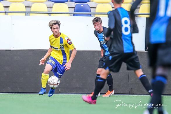 Ảnh Công Phượng đá chính tả xung hữu đột cùng đội U21 Sint Truiden - Ảnh 3.