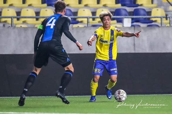 Ảnh Công Phượng đá chính tả xung hữu đột cùng đội U21 Sint Truiden - Ảnh 4.