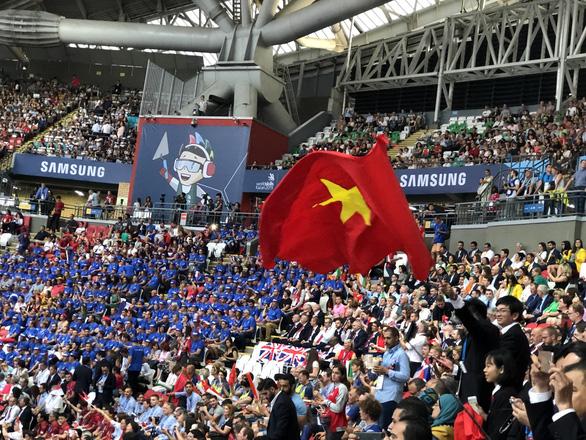 Thi tay nghề thế giới lần thứ 45: đoàn Việt Nam đoạt 1 huy chương bạc - Ảnh 4.