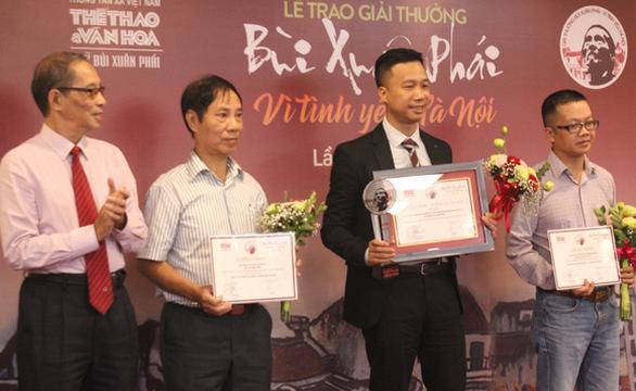 Đường đua F1 và ý tưởng hồi sinh sông Tô Lịch nhận Giải Bùi Xuân Phái - Ảnh 5.