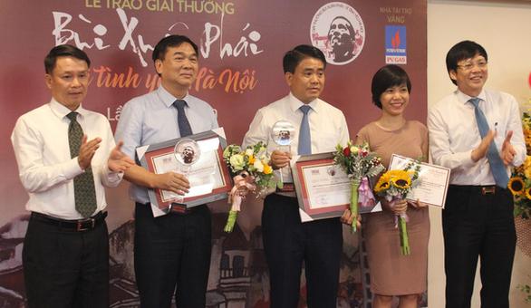 Đường đua F1 và ý tưởng hồi sinh sông Tô Lịch nhận Giải Bùi Xuân Phái - Ảnh 3.