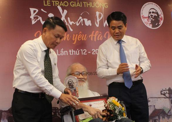 Đường đua F1 và ý tưởng hồi sinh sông Tô Lịch nhận Giải Bùi Xuân Phái - Ảnh 1.