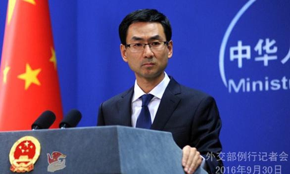 Trung Quốc nói Mỹ 'thâm độc' về Biển Đông - Ảnh 1.