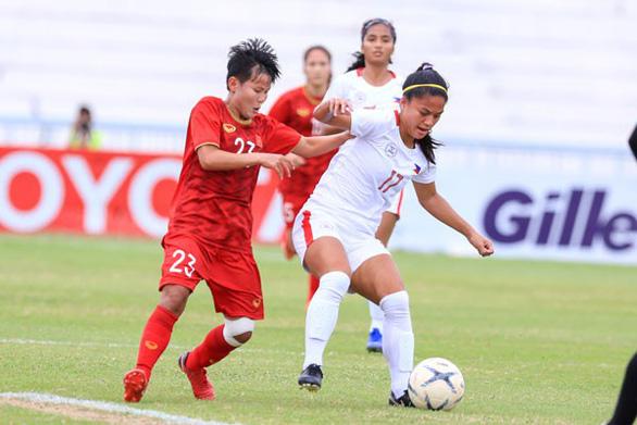 10 người Việt Nam đá bại Thái Lan, vô địch bóng đá nữ Đông Nam Á 2019 - Ảnh 12.