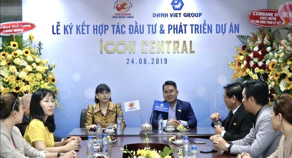 Lễ ký kết hợp tác đầu tư và phát triển dự án Icon Central - Ảnh 1.