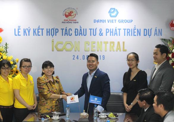 Lễ ký kết hợp tác đầu tư và phát triển dự án Icon Central - Danh Việt Group