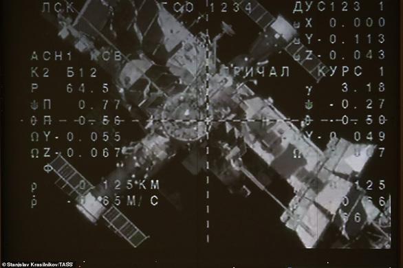 Tàu vũ trụ chở robot Nga kết nối thành công trạm ISS - Ảnh 1.