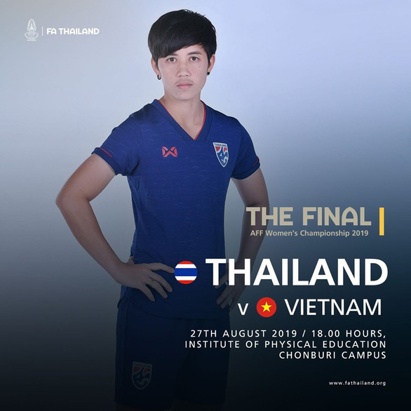 Trước trận chung kết nữ, CĐV Thái Lan kêu gọi: Thắng Việt Nam để lấy lại danh dự! - Ảnh 1.