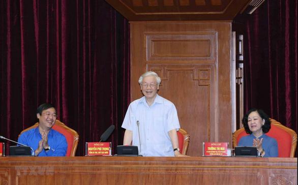 Tổng bí thư, Chủ tịch nước Nguyễn Phú Trọng: Lời Bác dặn phải ngấm vào máu - Ảnh 1.