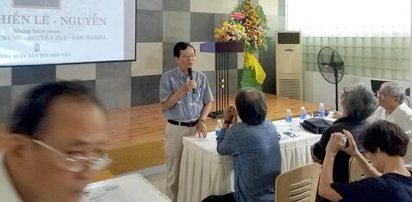 Thơ thiền Lê - Nguyễn ra mắt sau 12 năm thực hiện - Ảnh 3.