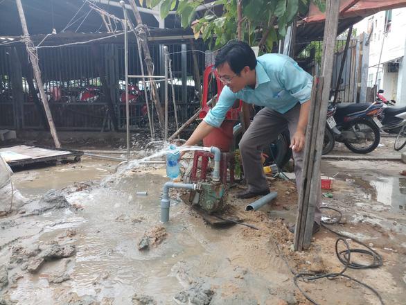 Đà Nẵng khoan giếng ngầm ở 2 quận để cấp nước tạm thời cho dân - Ảnh 3.