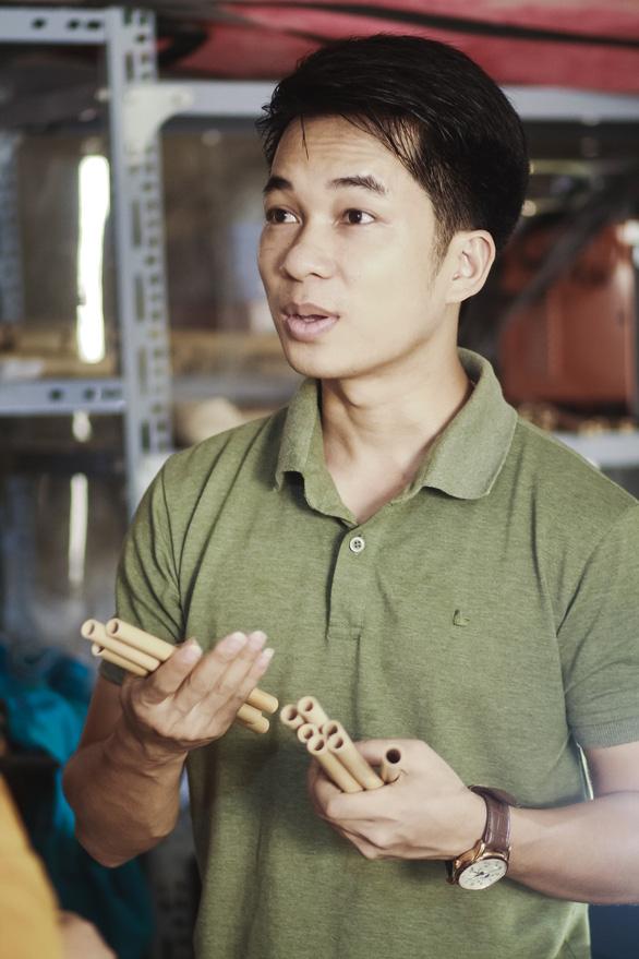 Từ ống sáo trúc đến ống hút tre Việt Nam ra thế giới - Ảnh 1.