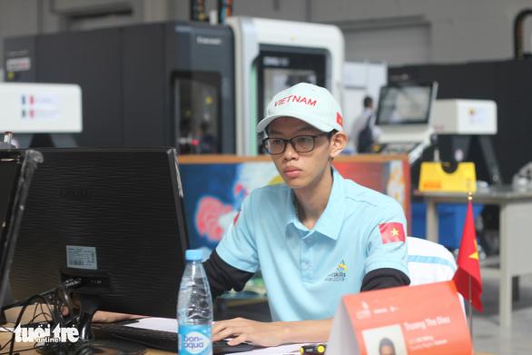 Thi tay nghề thế giới lần thứ 45: đoàn Việt Nam đoạt 1 huy chương bạc - Ảnh 2.