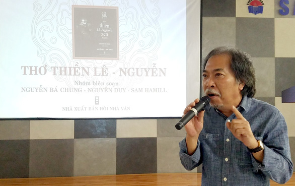 Thơ thiền Lê - Nguyễn ra mắt sau 12 năm thực hiện - Ảnh 2.
