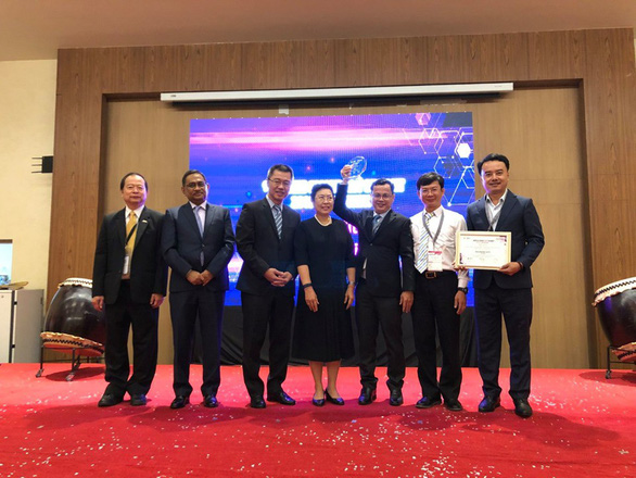 Đà Nẵng nhận giải thưởng thành phố thông minh ASOCIO Smart city - Ảnh 1.