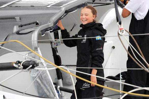 Nữ sinh 16 tuổi vượt Đại Tây Dương bằng thuyền để đi họp môi trường - Ảnh 1.