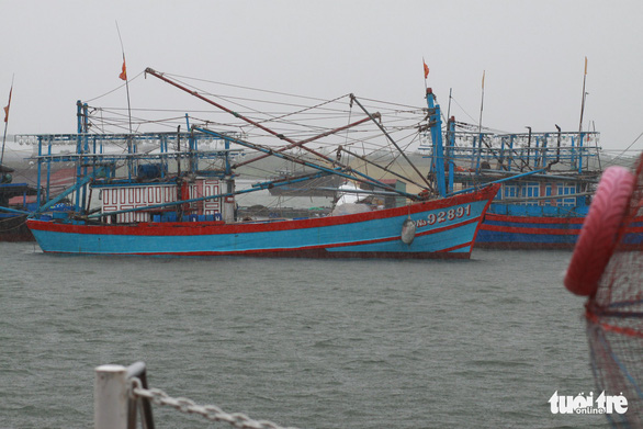 Tàu hàng gồm 10 thuyền viên mất liên lạc tại vùng biển Quảng Trị - Ảnh 1.