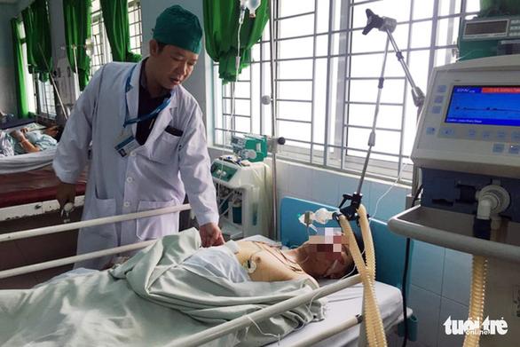Cứu sống bệnh nhân vỡ gan, đa chấn thương do tai nạn giao thông - Ảnh 1.