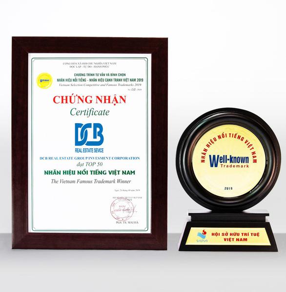Tập đoàn DCB đạt danh hiệu Top 50 nhãn hiệu nổi tiếng Việt Nam - Ảnh 1.