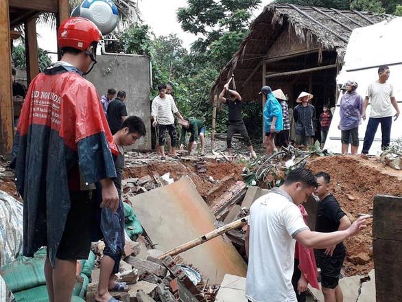 Một người chết, 13 người mất liên lạc do mưa bão số 3 - Ảnh 4.