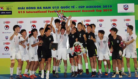 Việt Nam thua 2-3 sau trận đấu kiên cường, giành ngôi á quân U15 quốc tế 2019 - Ảnh 4.