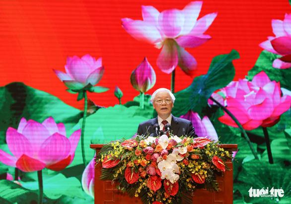 Tổng bí thư, Chủ tịch nước Nguyễn Phú Trọng: Tiếp tục rèn luyện, noi gương Bác Hồ - Ảnh 1.