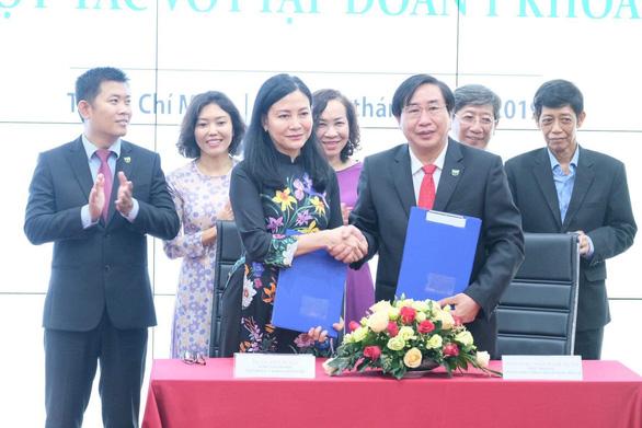 Hoàn Mỹ ký hợp tác với Đại học Y khoa Phạm Ngọc Thạch - Ảnh 1.