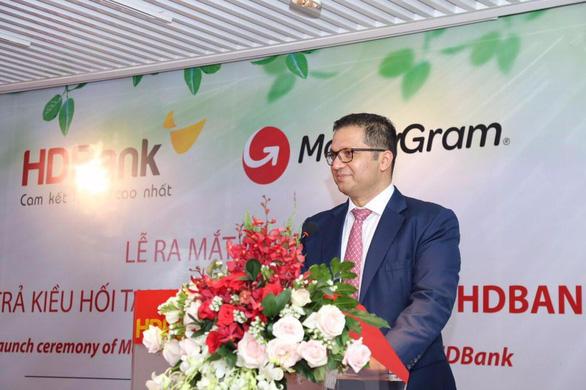 MoneyGram ra mắt dịch vụ chi trả kiều hối tại nhà với HDBank - Ảnh 3.