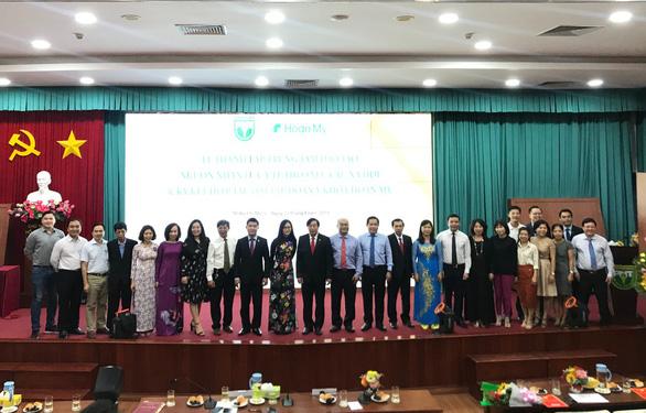 Hoàn Mỹ ký hợp tác với Đại học Y khoa Phạm Ngọc Thạch - Ảnh 3.