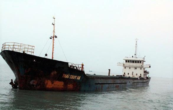 Đã vớt được 10 thuyền viên tàu Thái Thụy 88 bị chìm trong bão - Ảnh 1.