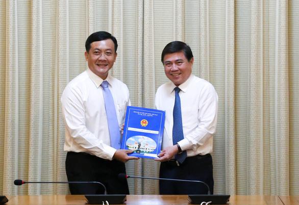 Ông Hà Phước Thắng làm chánh văn phòng UBND TP.HCM - Ảnh 1.