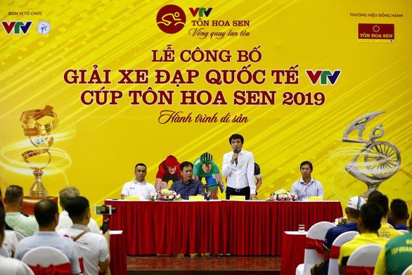 80 vận động viên dự giải đua xe đạp quốc tế VTV Cup 2019 - Ảnh 1.