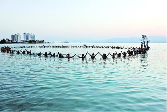 Đi tìm lời giải đáp về sự hình thành muối ở Biển Chết - Ảnh 1.