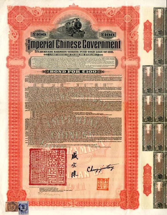 Mỹ níu áo đòi Bắc Kinh trả nợ 1.000 tỉ USD trái phiếu thời nhà Thanh - Ảnh 2.
