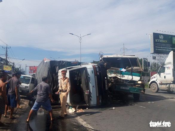 25 người chết, 16 bị thương vì tai nạn giao thông ngày đầu nghỉ lễ - Ảnh 1.