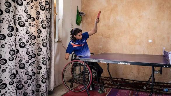 Nhà vô địch một tay của Iraq - Ảnh 1.