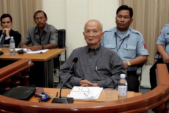 Cựu thủ lĩnh Khmer Đỏ Noun Chea chết ở tuổi 93 - Ảnh 1.
