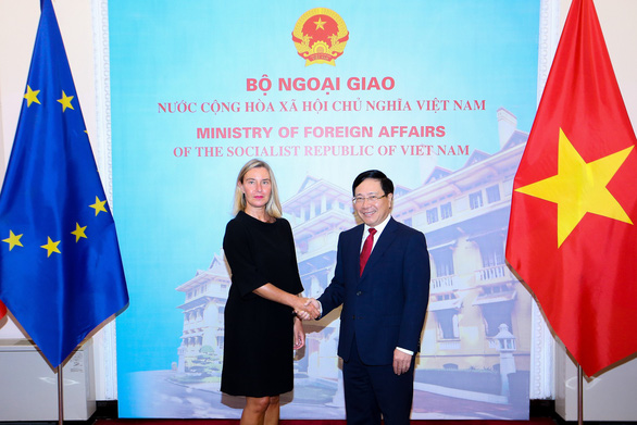 Việt Nam hoan nghênh lập trường của EU về Biển Đông - Ảnh 1.