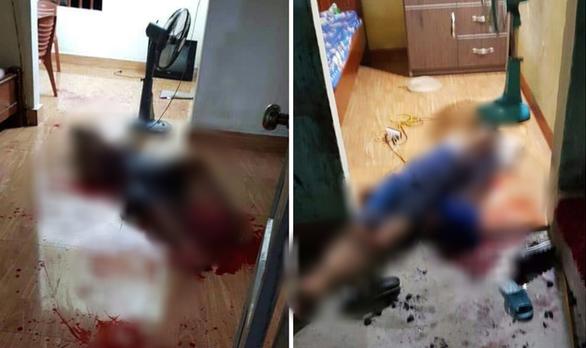 Đã bắt con rể đâm chết bố vợ và anh vợ tại Quảng Ninh - Ảnh 1.