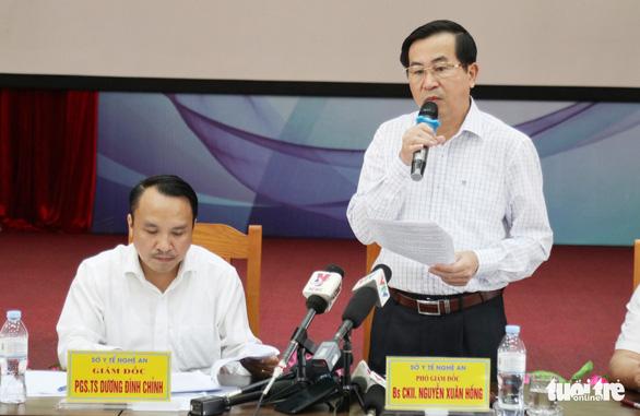 Vụ tai biến chạy thận ở Nghệ An: Do hệ thống dẫn nước bị nhiễm khuẩn - Ảnh 1.